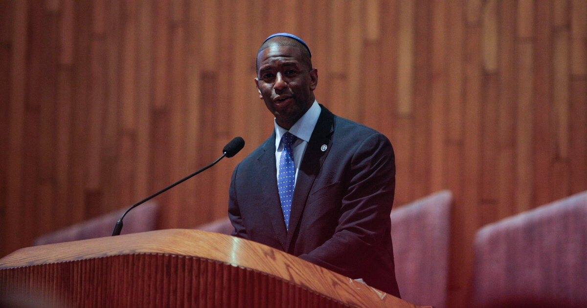 Mayor Andrew Gillum (D-FL) at a candidate forum