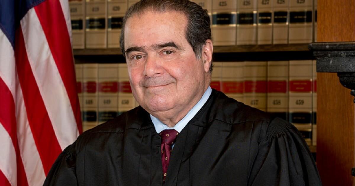 The late Justice Antonin Scalia.