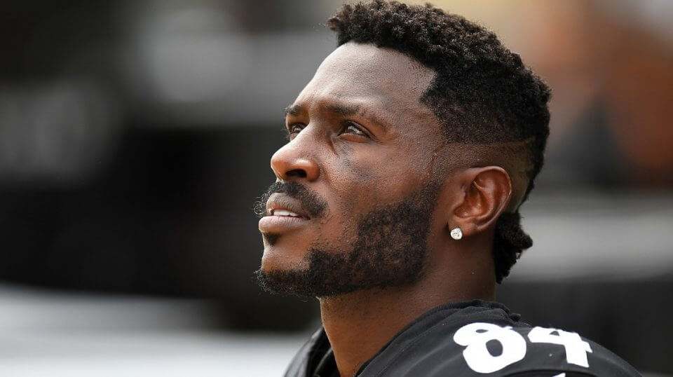 Antonio Brown of the Pittsburgh Steelers looks on during a game against the Kansas City Chiefs at Heinz Field on Sept. 16.