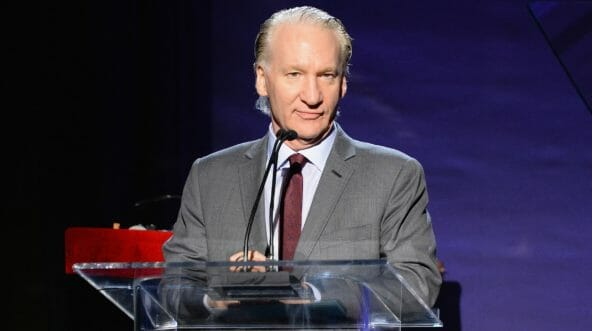 Master of ceremonies Bill Maher speaks onstage during the 6th Annual Sean Penn & Friends HAITI RISING Gala Benefiting J/P Haitian Relief Organizationat Montage Hotel on Jan. 7, 2017, in Beverly Hills, California.