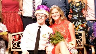 Boy with Down Syndrome Crowned Homecoming King