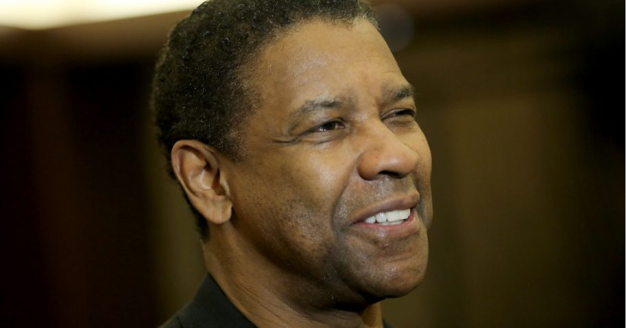 Actor Denzel Washington.