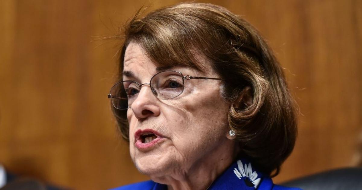 Senate Judiciary Committee Chairman Ranking Member Dianne Feinstein.