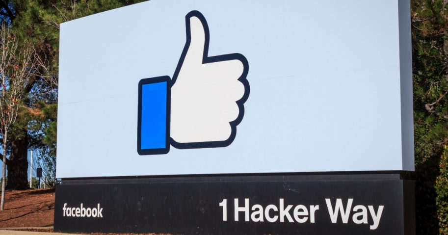 Facebook Headquarters, 1 Hacker Way, Menlo Park, California.