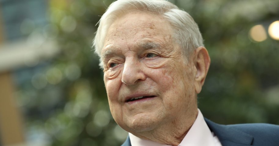 Financier and philanthropist George Soros