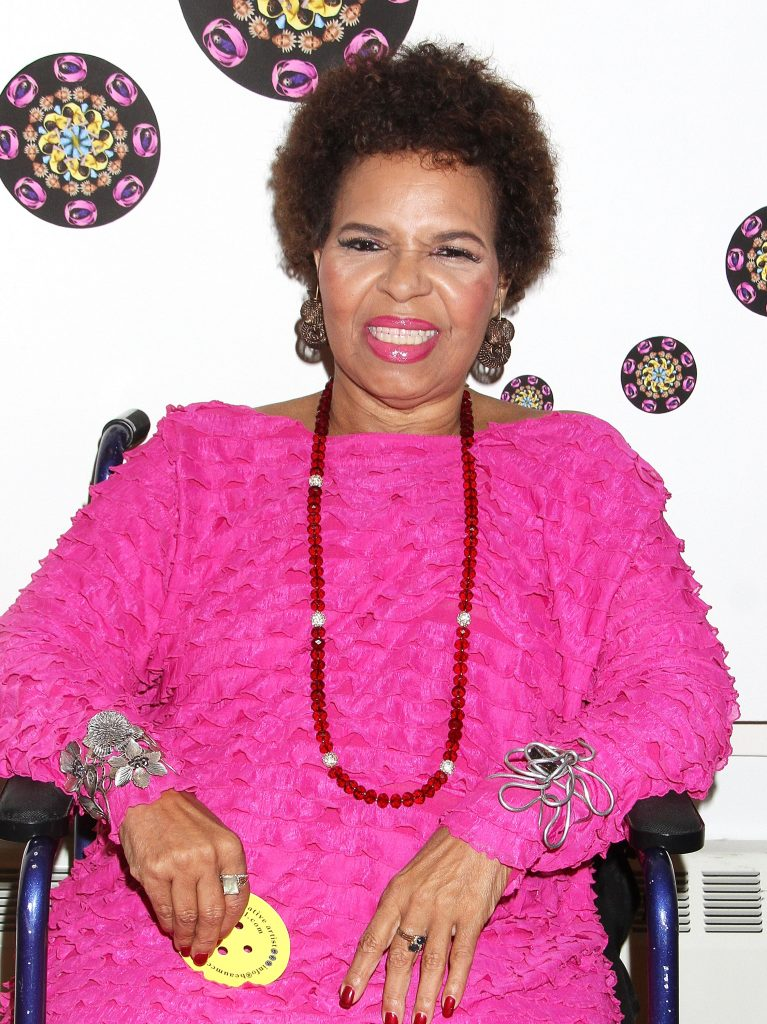 """Ntozake Shange attends I Found God In Myself: The 40th Anniversary Of """"For Colored Girls"""" Press Preview at The Schomburg Center for Research in Black Culture on September 17, 2014 in New York City."""