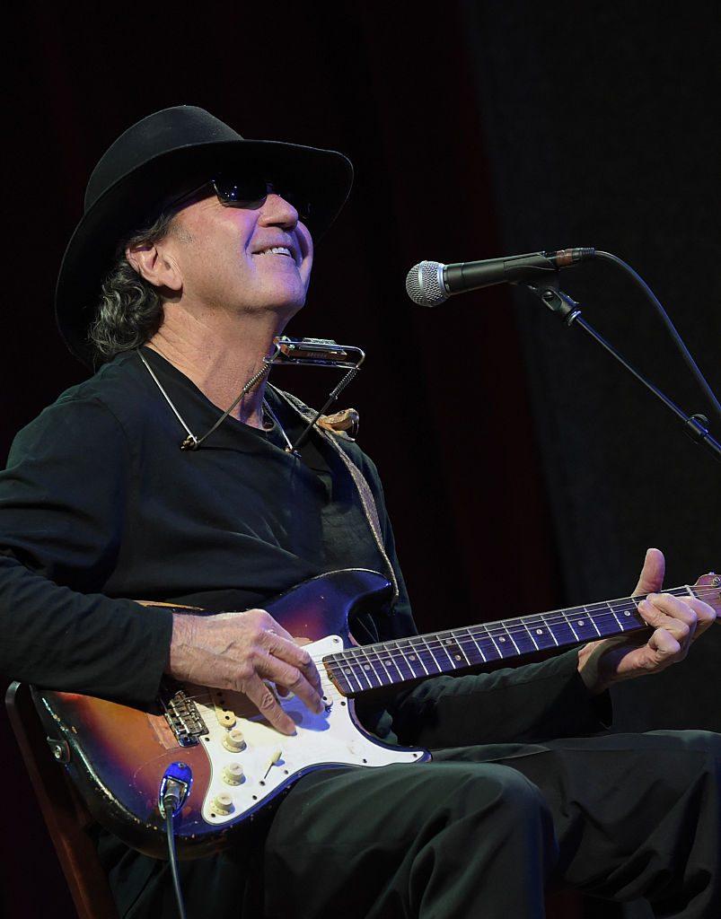 Tony Joe White Performs at City Winery Nashville on February 5, 2015 in Nashville, Tennessee.