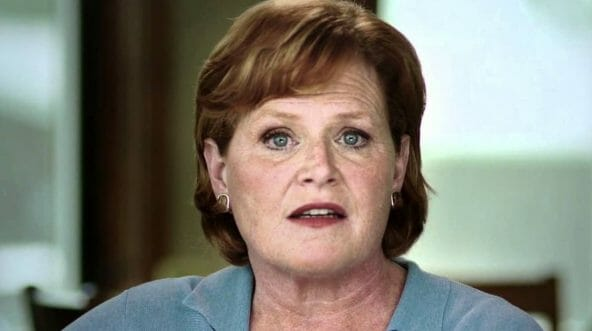 North Dakota Sen. Heidi Heitkamp is trailing her Republican opponent according to a recent poll by a North Dakota TV station.