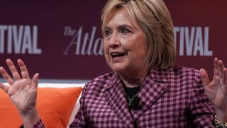 Hillary Clinton told CNN that Democrats 'cannot be civil' when dealing with Republicans.