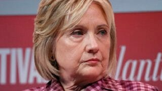 Former Secretary of State Hillary Clinton gave up her security clearance in August.
