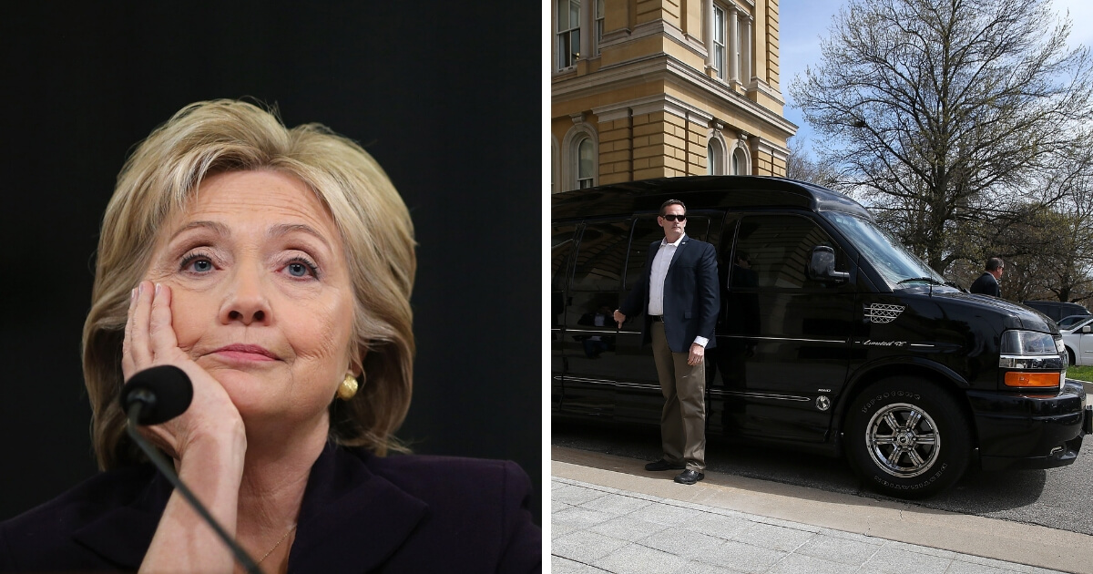 Video: Hillary Involved in Car Accident Before Democrat Fundraiser
