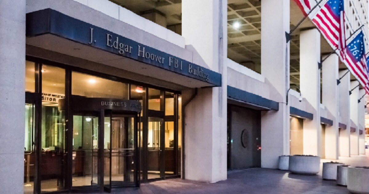 The J. Edgar Hoover Building in Washington, the