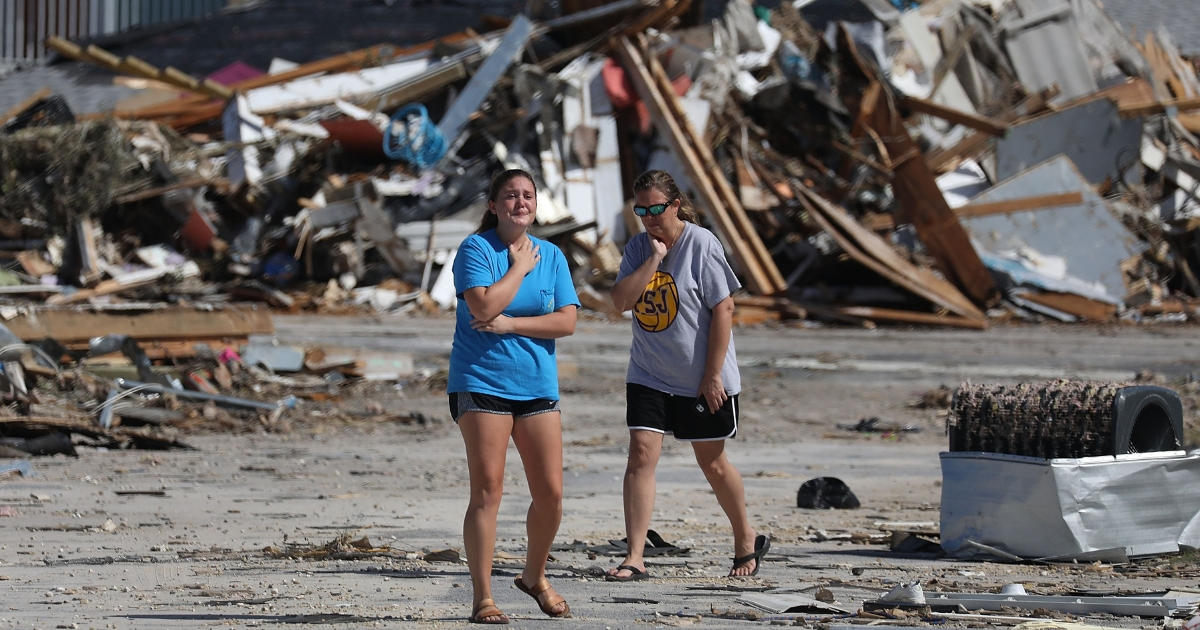 Professor Says Hurricane Michael Victims Are Reaping What They Sowed