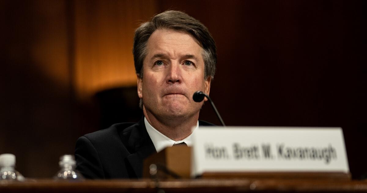 Judge Brett M. Kavanaugh testified in front of the Senate Judiciary committee