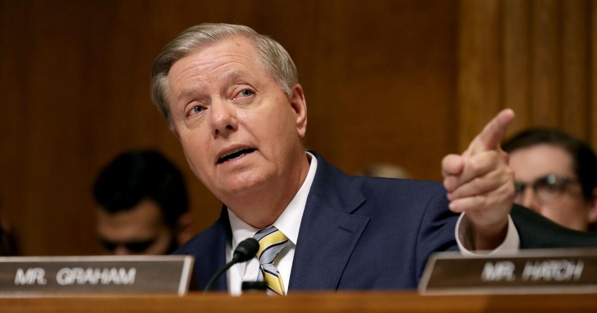 Senate Judiciary Committee member Sen. Lindsey Graham