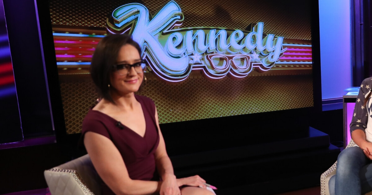 Lisa Kennedy Montgomery on the set of FOX Business Network at FOX Studios on Aug. 22, 2016, in New York City.