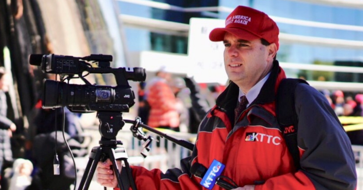 Minnesota TV reporter James Brunner was fired for wearing a Make America Great Again hat while covering a rally for President Donald Trump.