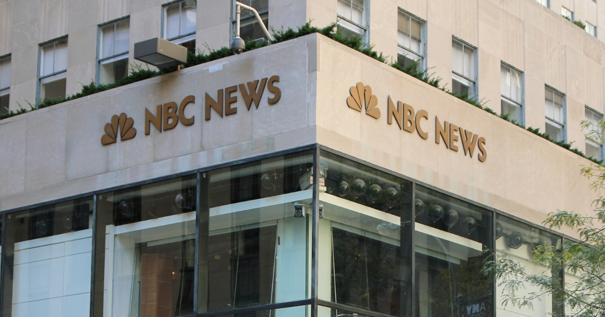 The NBC News studios at 30 Rockefeller Center in New York City.