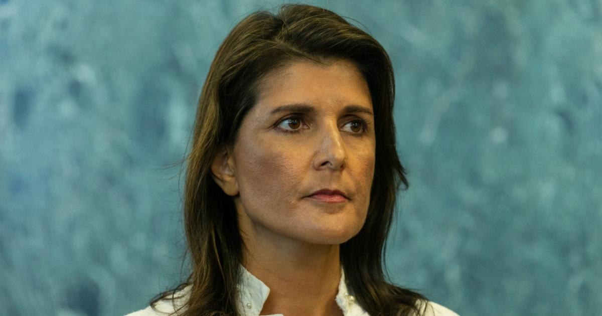 Outgoing U.N. Ambassador Nikki Haley