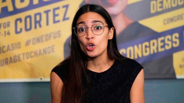Democratic congressional candidate Alexandria Ocasio-Cortez