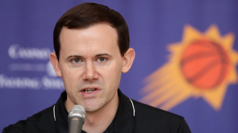 The Phoenix Suns fired general manager Ryan McDonough on Monday.
