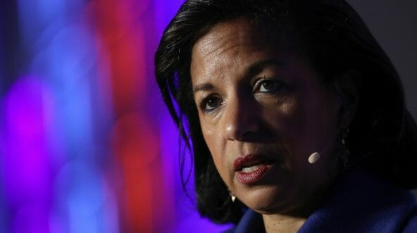 Former National Security Advisor Susan Rice