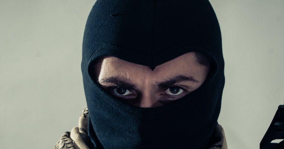 An Islamic soldier