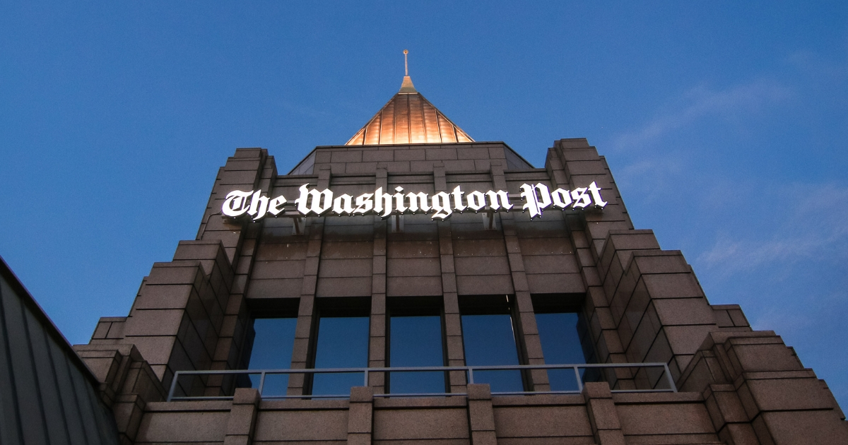 Views from the rooftop of the Washington Post.