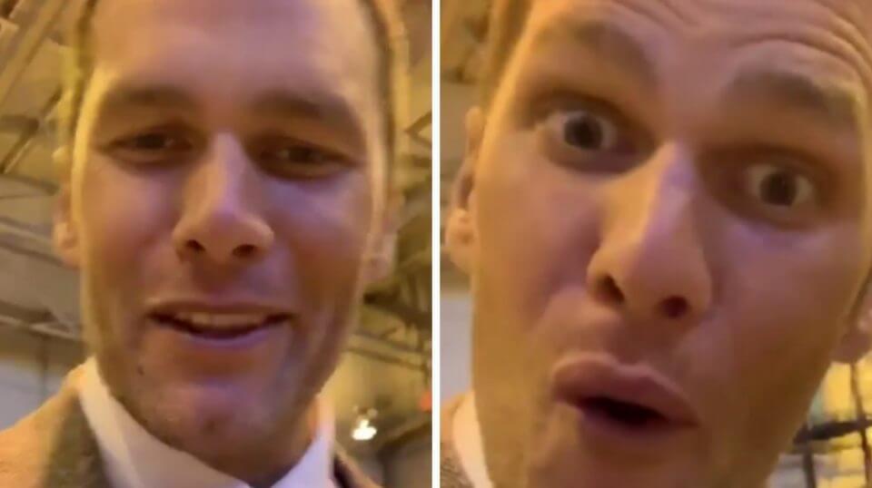 """Bills Mafia, here we come!"" Tom Brady said in an Instagram video Sunday."