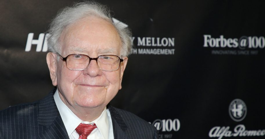 Philanthropist Warren Buffett