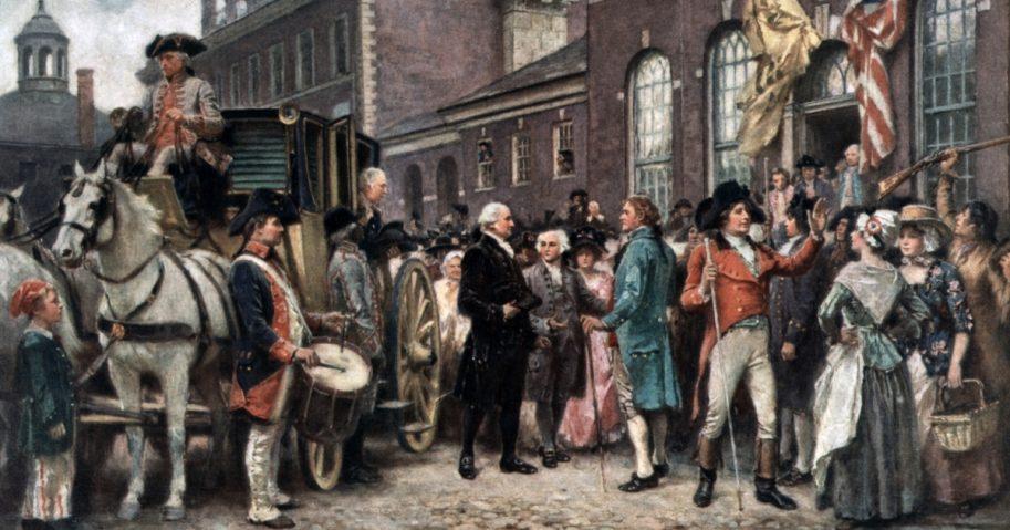 George Washington's Second Inauguration