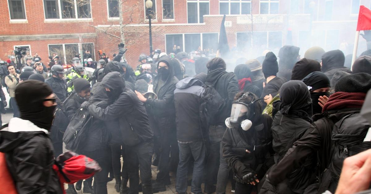 Antifa protests