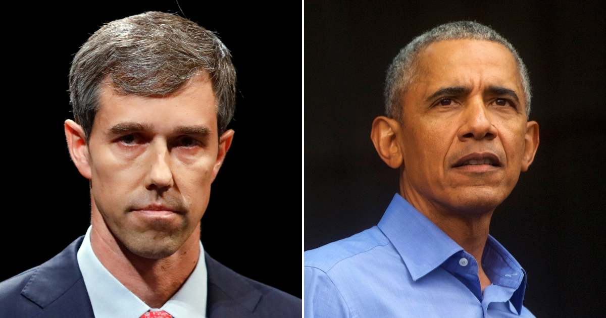 Beto O'Rourke/ Barack Obama