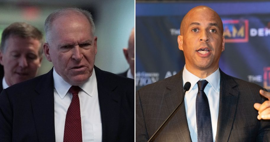 Cory Booker/James Clapper