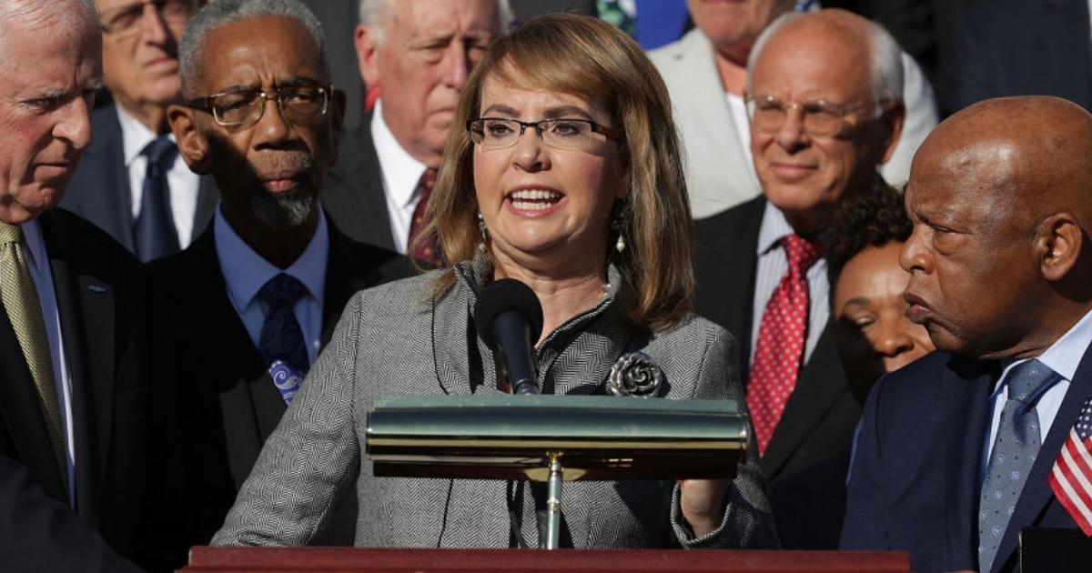 Former Congresswoman Gabby Giffords