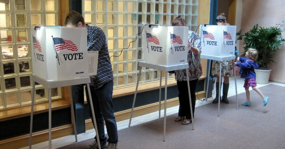 primary voters in Wisconsin voting in the 2012 midterms