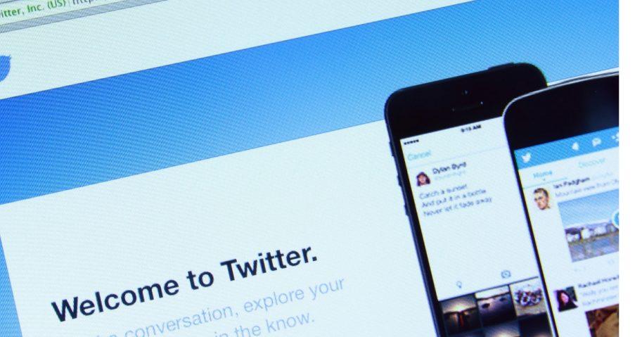 Twitter's website