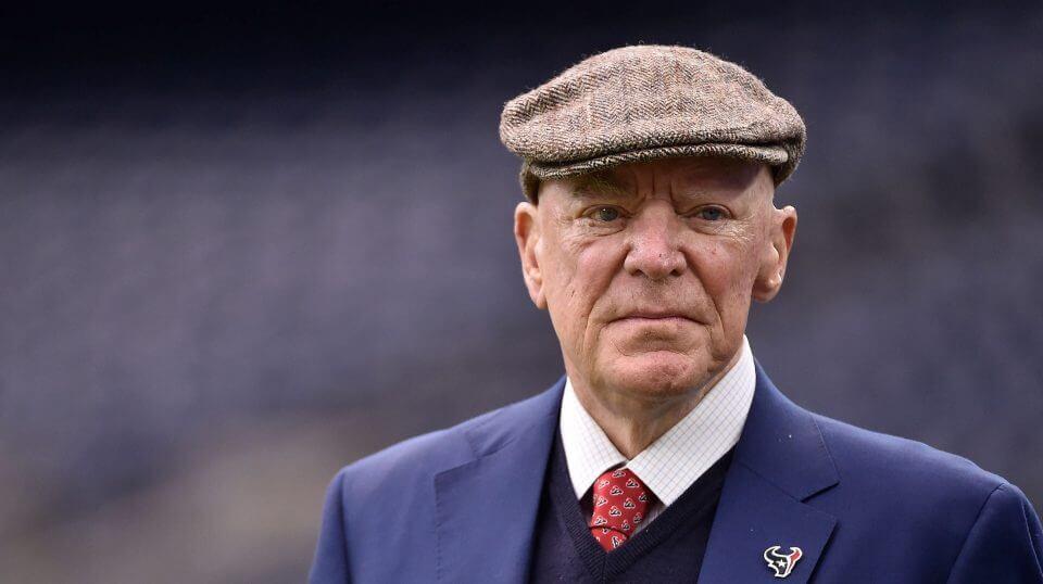 """Houston Texans owner Robert """"Bob"""" McNair died Friday at 81"""