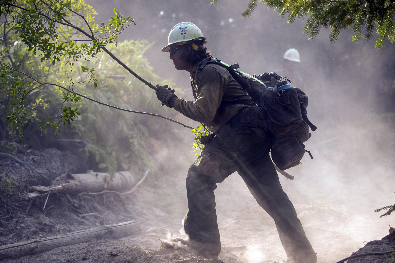 Veterans Combatting Wildfires