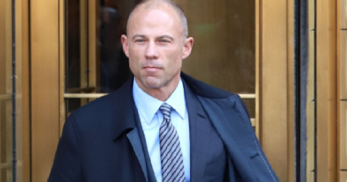 Michael Avenatti, the attorney who represents porn star Stormy Daniels, is seen leaving a federal court in New York in April.