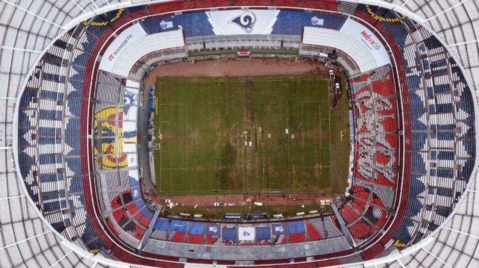 Mexico's Azteca Stadium