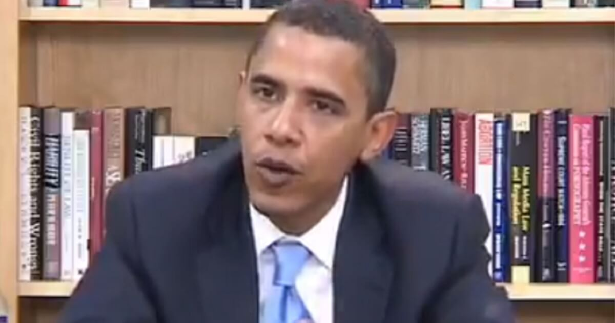 As a United States senator, Barack Obama makes comments about immigration that sound like Republican arguments today.