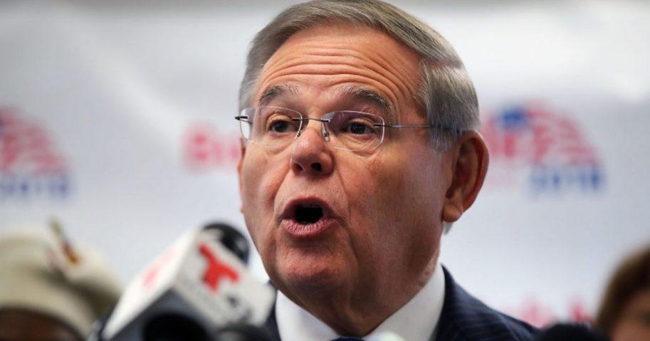New Jersey Democratic Sen. Bob Menendez