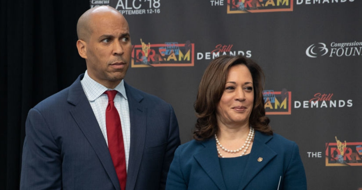 Sens. Cory Booker and Kamala Harris are considered two of the favorites to win the 2020 Democratic presidential nomination.