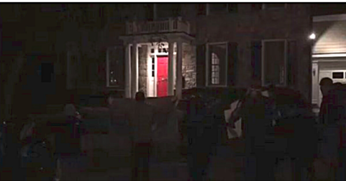 Leftists Rage Outside Tucker's House, Threaten Violence to Him and His Family
