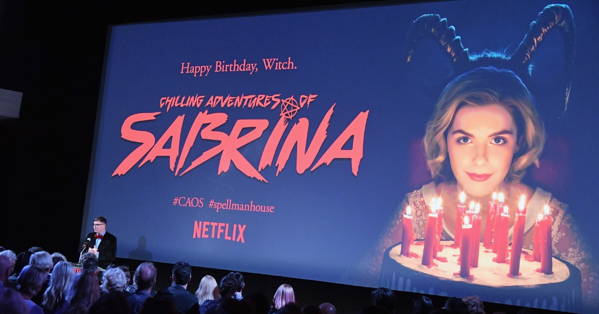 'Chilling Adventures of Sabrina' red carpet and premiere event