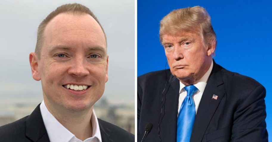 Cliff Sims and Donald Trump