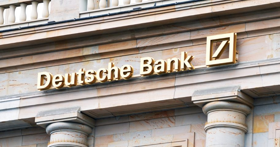 Deutsche Bank on June 2 in Frankfurt, Germany.