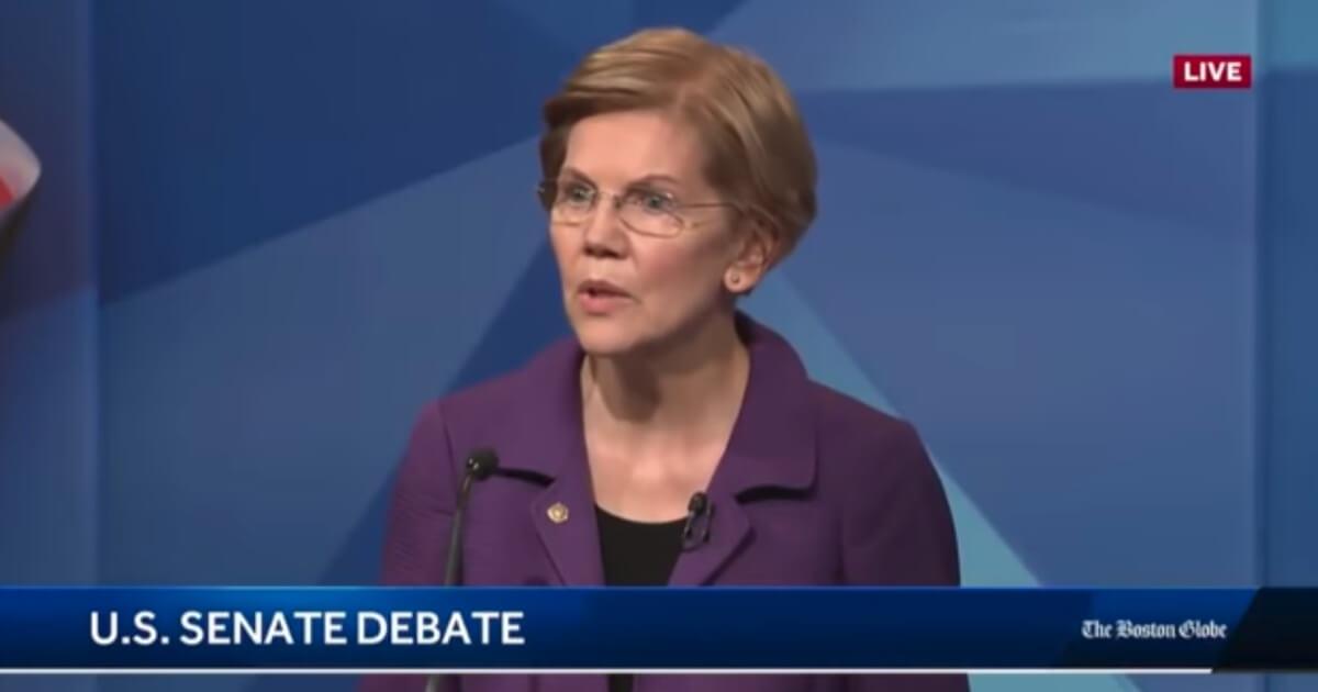 Elizabeth Warren dumbfounded