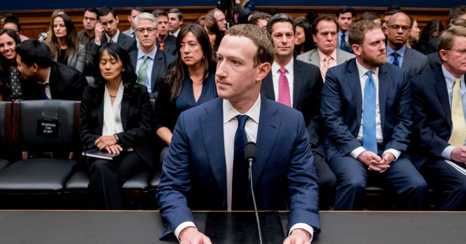 Facebook CEO Mark Zuckerberg arrives to testify before a House Energy and Commerce hearing on Capitol Hill in Washington on April 11, 2018, about the use of Facebook data to target American voters in the 2016 election and data privacy.
